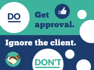 designing with clients