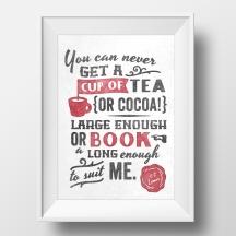 C.S. Lewis quote typography